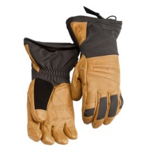 Black Diamond Equipment Virago Gore-Tex® Gloves - Waterproof, Insulated, Leather (For Men) in Natural - Closeouts