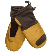 Black Diamond Equipment Virago Gore-Tex® XCR® Mittens - Waterproof, Insulated (For Men) in Natural - Closeouts