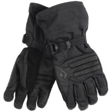Black Diamond Equipment Vision Gloves - Removable Fleece Liner (For Men) in Black - Closeouts