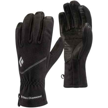 Black Diamond Equipment Windweight Digital Gloves - Touchscreen Compatible (For Women) in Black - Closeouts