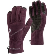 Black Diamond Equipment Windweight Digital Gloves - Touchscreen Compatible (For Women) in Wine - Closeouts