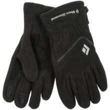 Black Diamond Equipment WindWeight Gloves - Polartec® Windbloc® Fleece (For Men) in Black - Closeouts