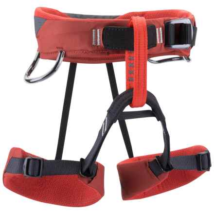 Black Diamond Equipment Wiz Kid Climbing Harness (For Kids) in Deep Torch - Closeouts