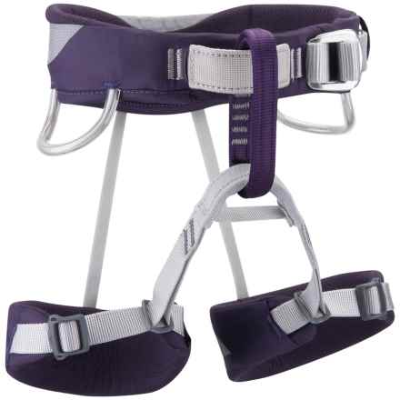 Black Diamond Equipment Wiz Kid Climbing Harness (For Kids) in Nightshade - Closeouts