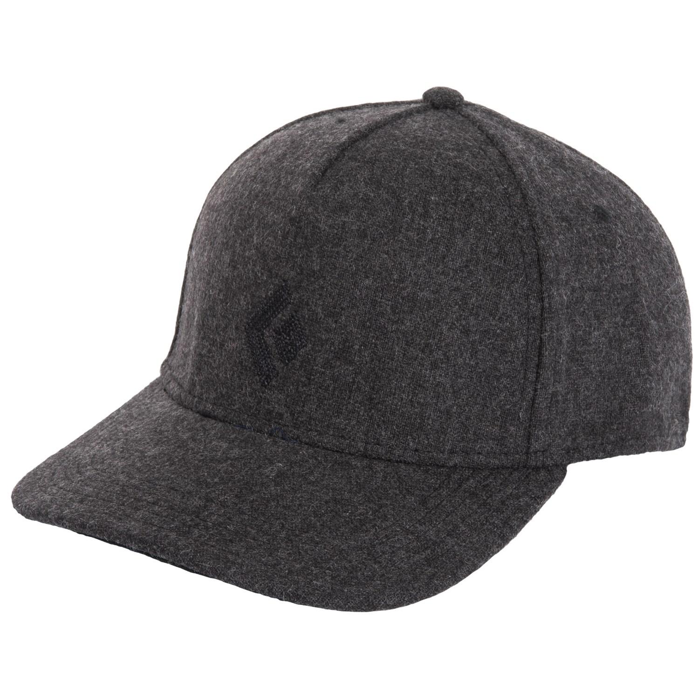 3bbcaf569c1 Black Diamond Equipment Wool Trucker Hat (For Men and Women) in Smoke ...