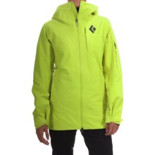 Black Diamond Equipment Zone Gore-Tex® Ski Jacket - Waterproof, Insulated (For Women) in Aloe - Closeouts