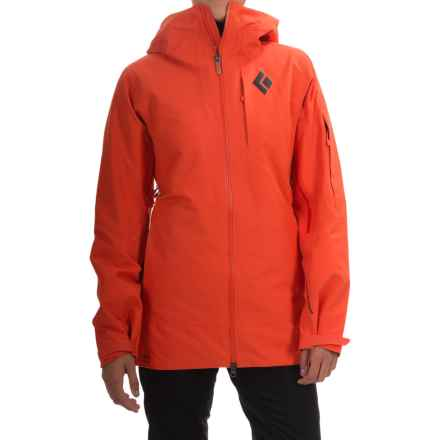 Black Diamond Equipment Zone Gore-Tex® Ski Jacket - Waterproof, Insulated (For Women) in Octane - Closeouts