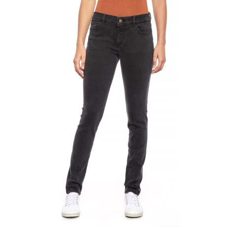 Image of Black Florence Skinny Jeans (For Women)