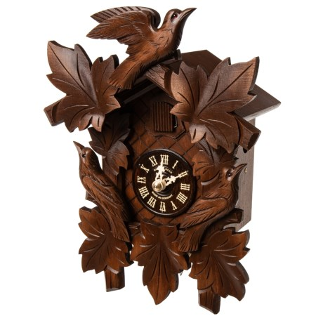Image of Black Forest Grape Carving Cuckoo Clock - 12?