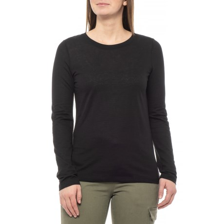 Image of Black Francie Shirt - Long Sleeve (For Women)