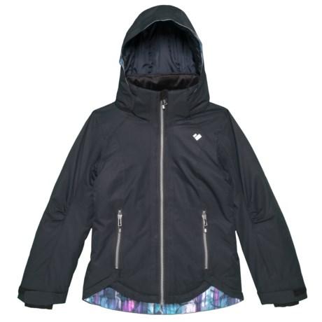 Image of Black Kenzie Ski Jacket - Waterproof, Insulated (For Big Girls)