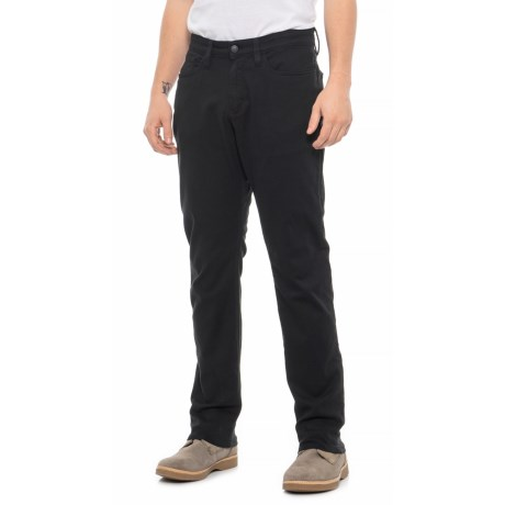 Image of Black Live Lite A/C Relaxed Fit Pants (For Men)