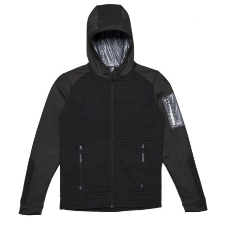 Image of Black Match Fleece Hoodie (For Big Boys)