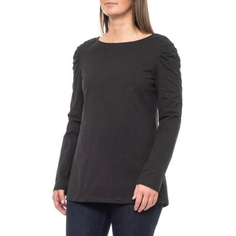 Image of Black Metro T-Shirt - Long Sleeve (For Women)