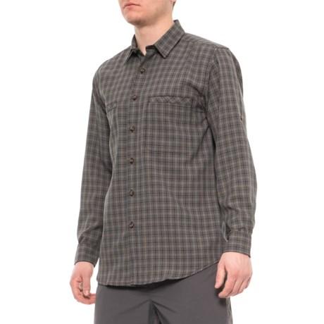 Black Moisture Management Shirt - Long Sleeve (For Men) thumbnail