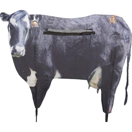 Black Moo Cow Decoy Blind - 57x42? - SEE PHOTO ( ) thumbnail
