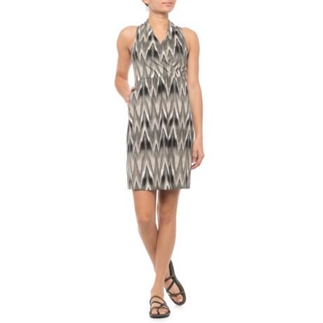 Image of Black Nevis Halter Dress - Sleeveless (For Women)