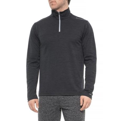 Image of Black Phantom Shirt - Zip Neck, Long Sleeve (For Men)