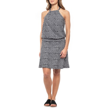 Image of Black Pitaya Montezuma Dress - Sleeveless (For Women)
