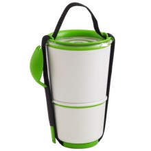 black+blum Double Lunch Pot - Insulated in Lime - Closeouts