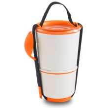 black+blum Double Lunch Pot - Insulated in Orange - Closeouts