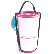 black+blum Double Lunch Pot - Insulated in Pink - Closeouts