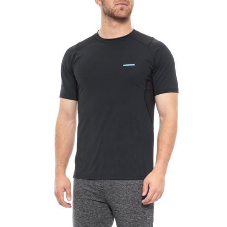 Image of Black Pro Series Compression T-Shirt - Short Sleeve (For Men)