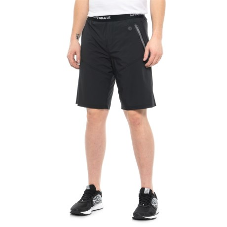 Image of Black Pro X 2-in-1 Shorts - Built-In Brief (For Men)