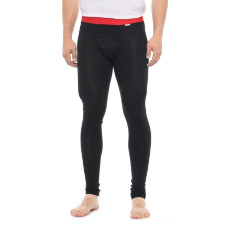 Image of Black Red Weekday First Layer Base Layer Pants (For Men)