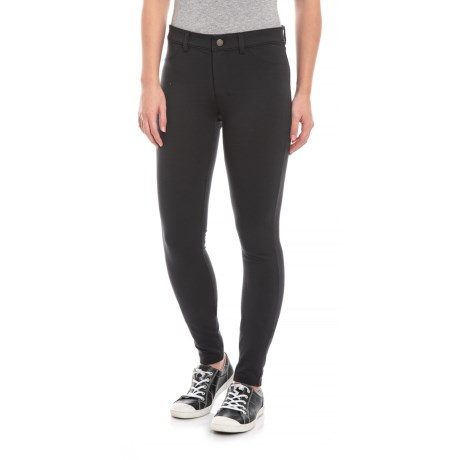 Image of Black Sidekick Jeggings (For Women)