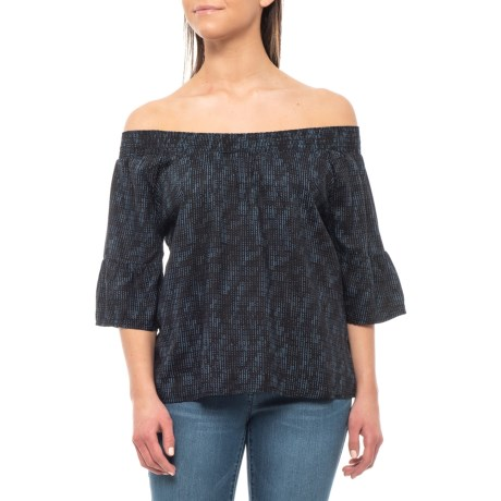 Image of Black Sprinkle Chryssa Shirt - Short Sleeve (For Women)
