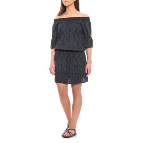 Image of Black Sprinkle Lenora Dress - Short Sleeve (For Women)