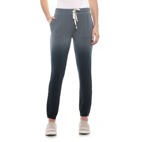 Image of Black Sunfade Sweatpants (For Women)