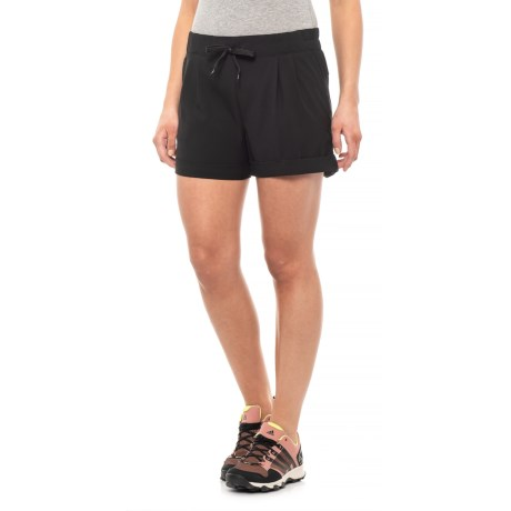 Image of Black Tepic Shorts (For Women)