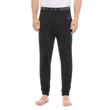 Black Thermal Base Layer Pants (For Men) thumbnail