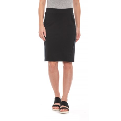 Image of Black Transita Skirt - UPF 30+ (For Women)