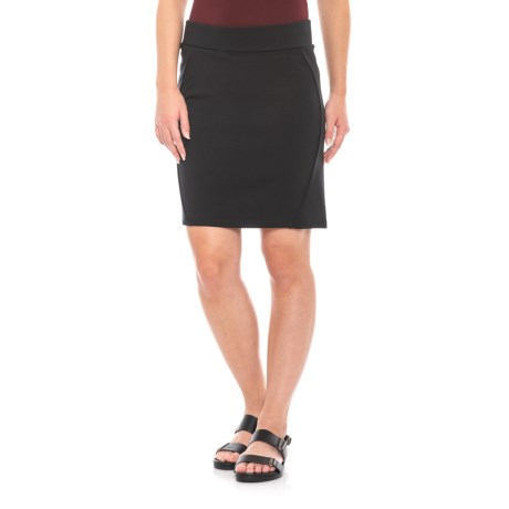 Image of Black Transita Skirt - UPF 40+ (For Women)