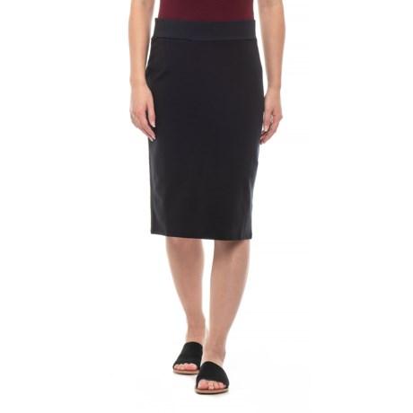 Image of Black Transito Skirt - UPF 40+ (For Women)