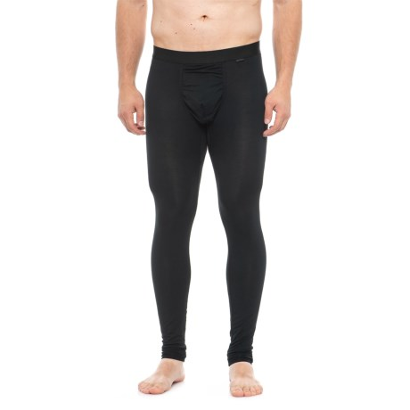Image of Black Weekday First Layer Base Layer Leggings (For Men)