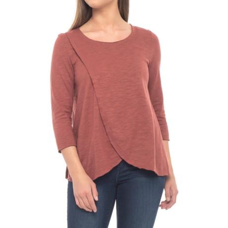 Blackbird Flared Shirt - Cotton, Long Sleeve (For Women)