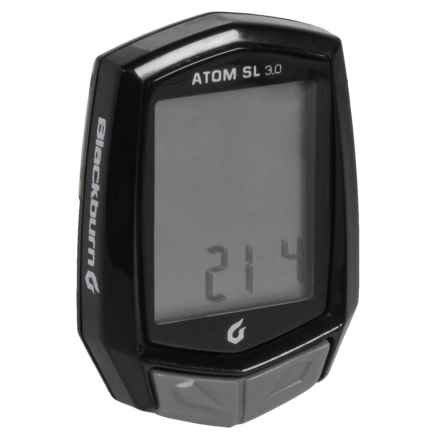 Blackburn Atom SL 3.0 Cyclometer in Black - Closeouts