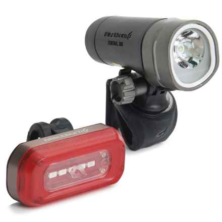Blackburn Central 300 Front + 50 Rear Bike Light Set in See Photo - Closeouts