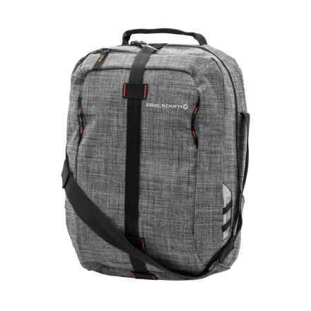Blackburn Central Rear Pannier in Charcoal - Closeouts