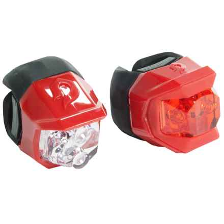 Blackburn Click Combo Front/Rear Bike Lights in Red - Closeouts