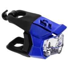 Blackburn Metallic Click Front Bike Light in Blue - Closeouts
