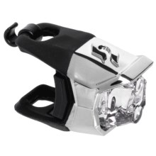 Blackburn Metallic Click Front Bike Light in Chrome - Closeouts