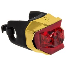 Blackburn Metallic Click Rear Bike Light in Gold - Closeouts