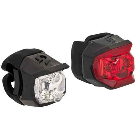 Blackburn Voyager and Mars Click Combo Light Set - 2-Pack in Black - Closeouts