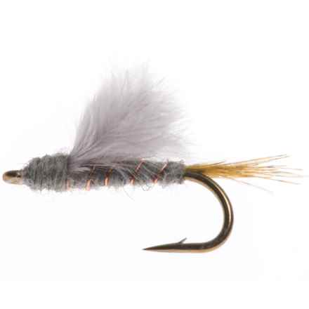 Black's Flies Action RS-2 Adams Nymph Fly - Dozen in Grey - Closeouts