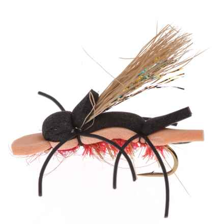 Black's Flies Amy's Ant Dry Fly - Dozen in Red - Closeouts
